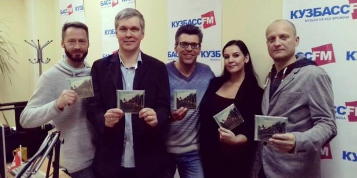 Ермаков и Ко побывали в прямо эфире радио Кузбасс FM и телеканала СТС-Кузбасс